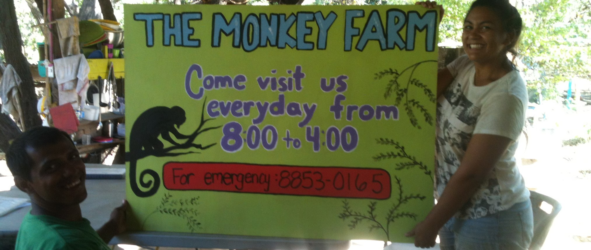 Directions to The Monkey Farm in Costa Rica